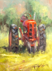 Tractor In The Rough